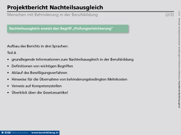 dokumentation BERUFSBILDUNG   www.doku.berufsbildung.ch   © SDBB ...